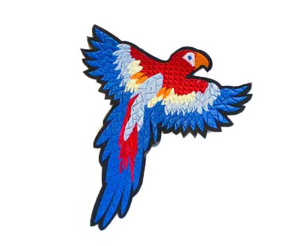 SEW-ON BIRD MOTIVE BIG