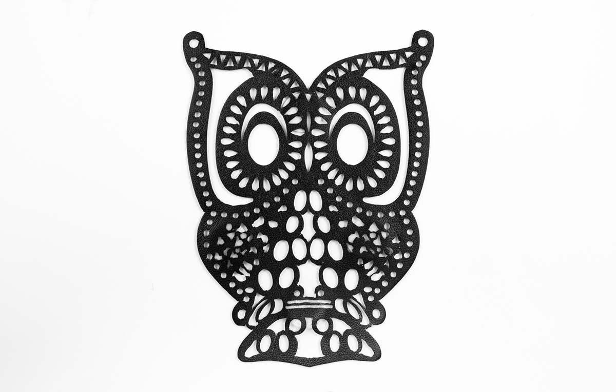 LASER CUT OWL MOTIVE