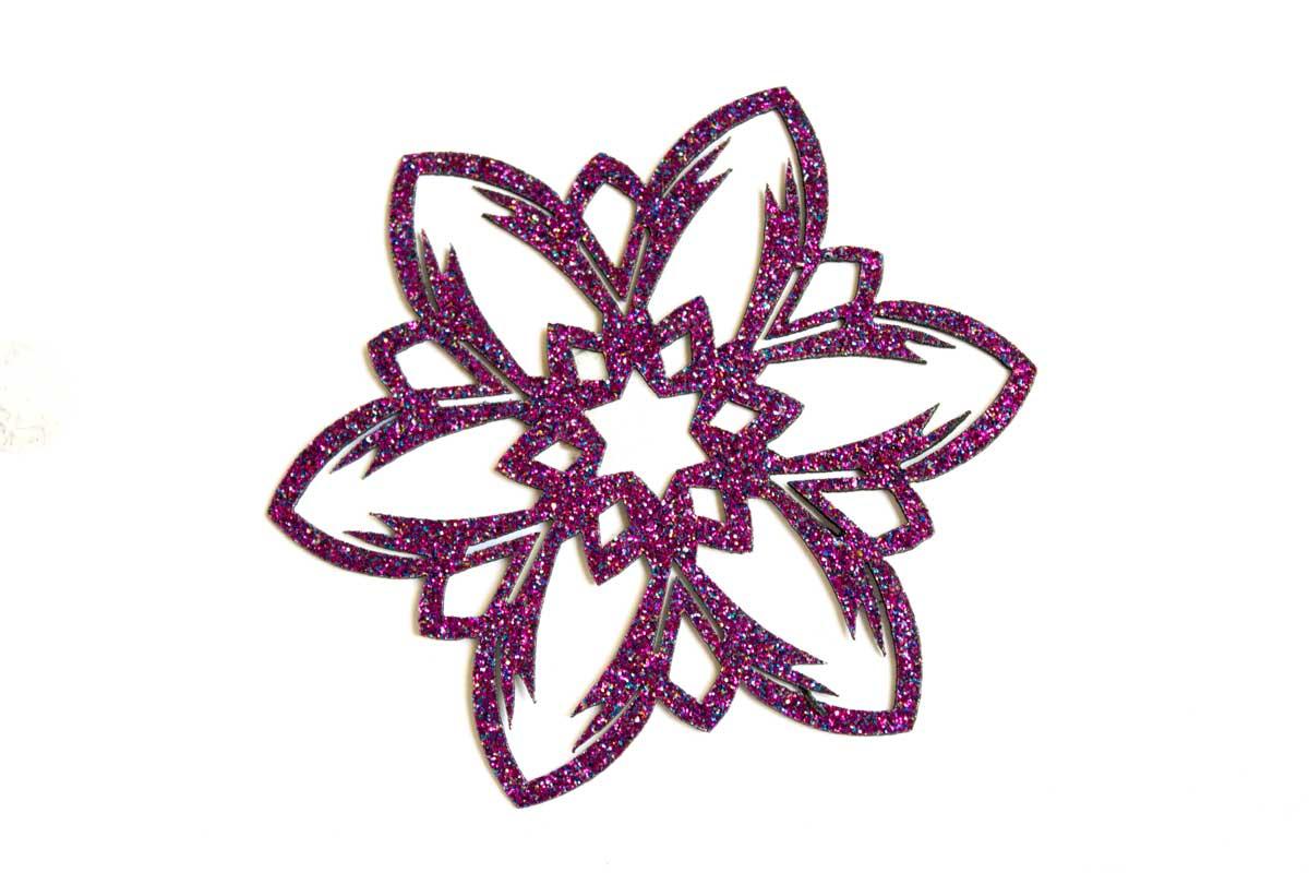 LAZER CUT FLOWER – PINK