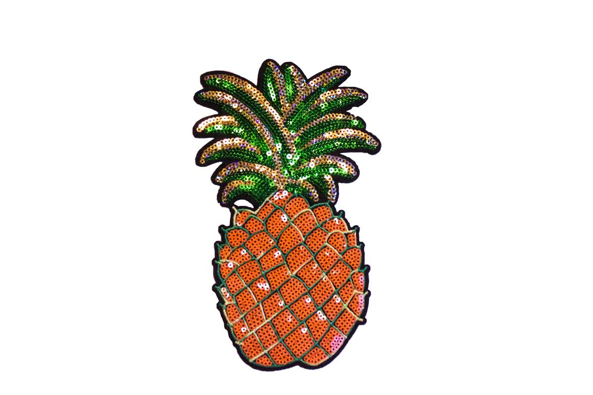 BIG PINEAPPLE PATCH W/ SEQUIN
