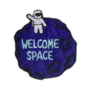 patch welcome space 79A96589A