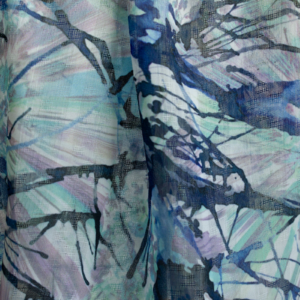 1270.151303 VOILE WITH PRINT blue
