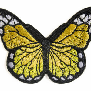 2001.00102 yellow butterfly patch