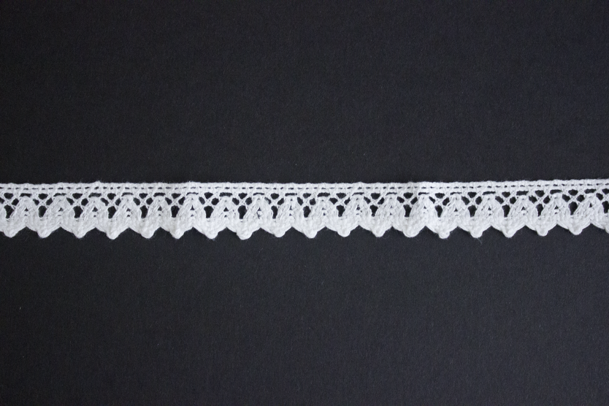 CROCHET LACE 18 MM OFFWHITE