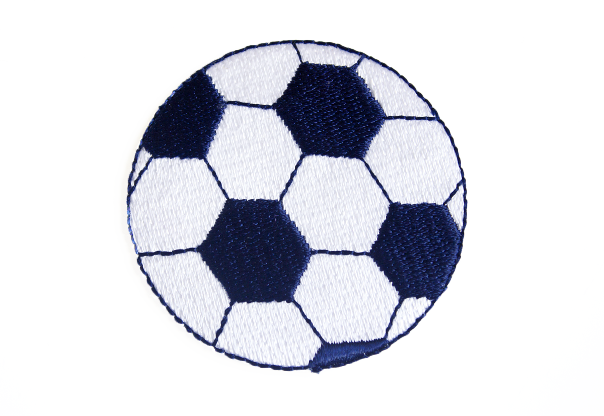 FOOTBALL PATCH NAVY