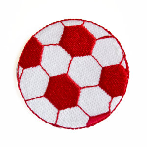 7900131003 football patch red