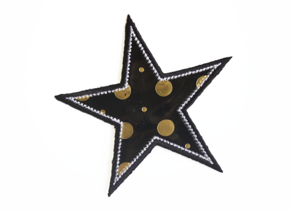 79A61636B star with dots
