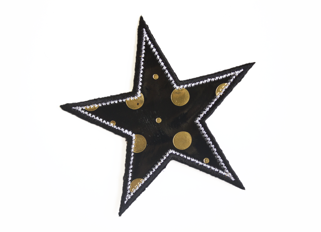 STAR PATCH WITH DOTS