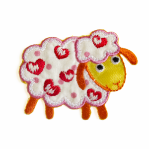 79A76582A sheep with hearts