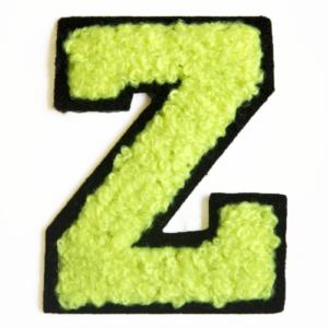 79CH3817B chenille letter z