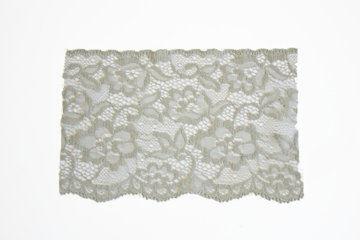 ELASTIC LACE – 2 SIZES AND MANY COLORS