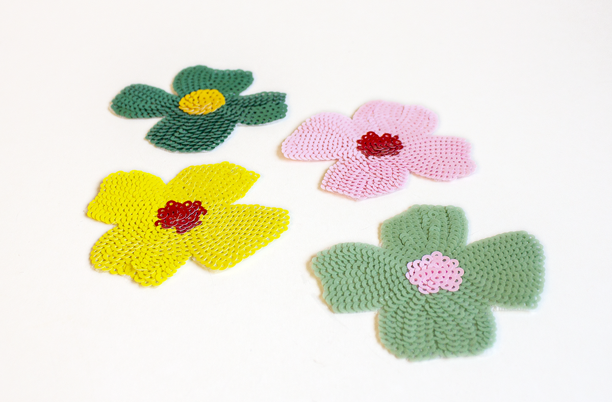 SEQUIN FLOWER PATCH