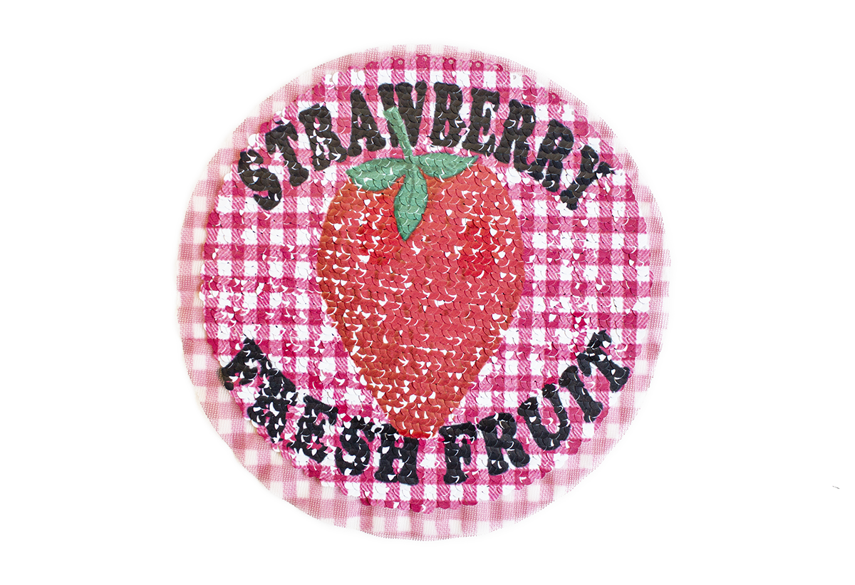 STRAWBERRY PATCH W/SEQUIN