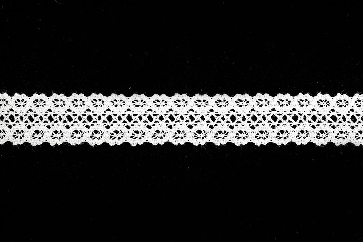 COTTON CROCHET LACE 20 MM – OFF WHITE