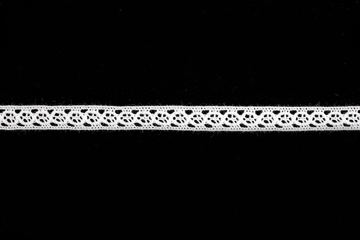 COTTON CROCHET LACE 8 MM – OFF WHITE