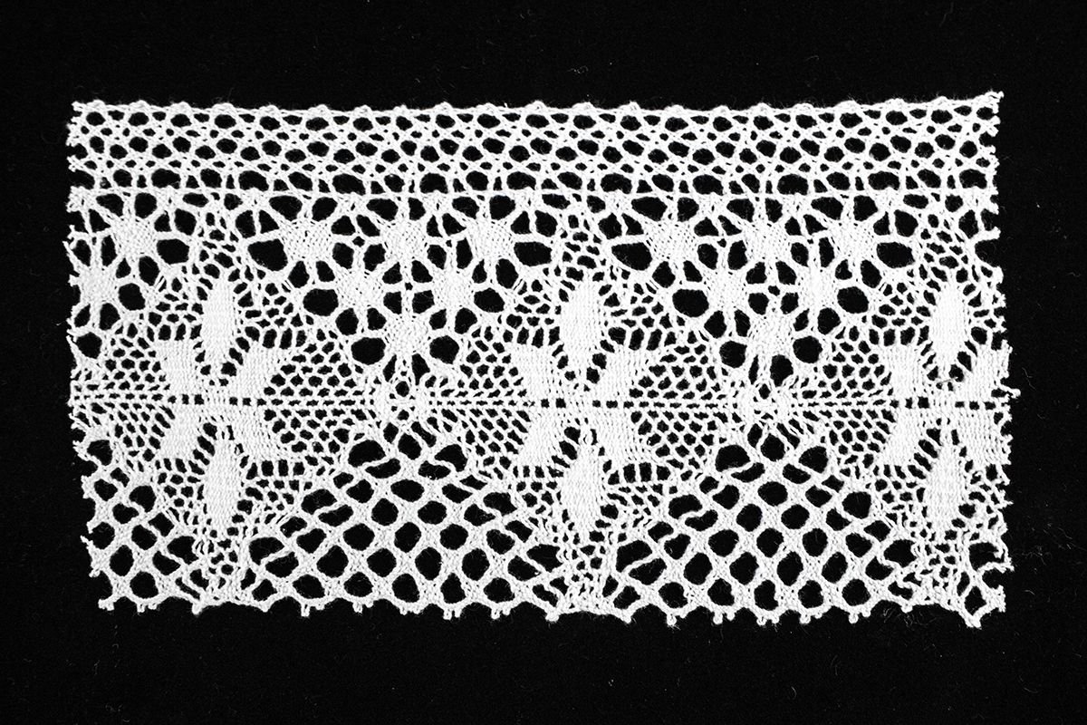 COTTON CROCHET LACE 10 CM – WHITE