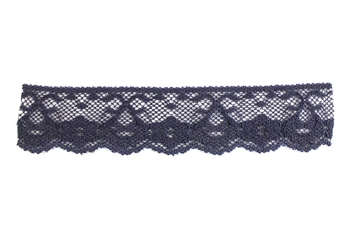 ELASTIC LACE 25 MM – NAVY