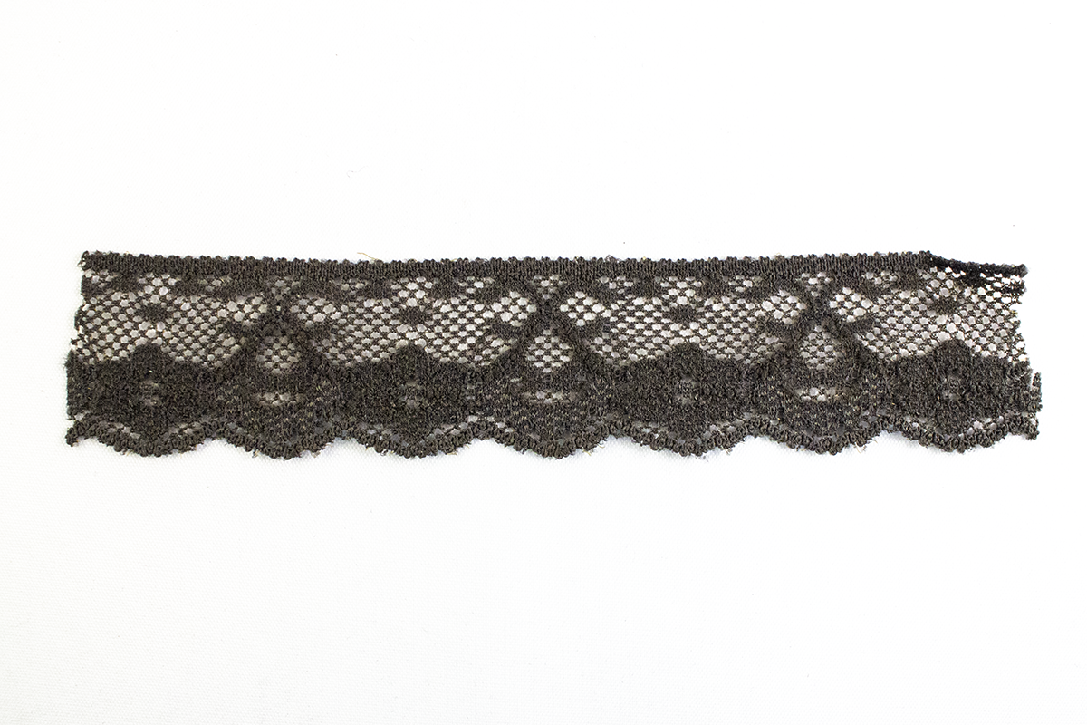 ELASTIC LACE 25 MM – BROWN