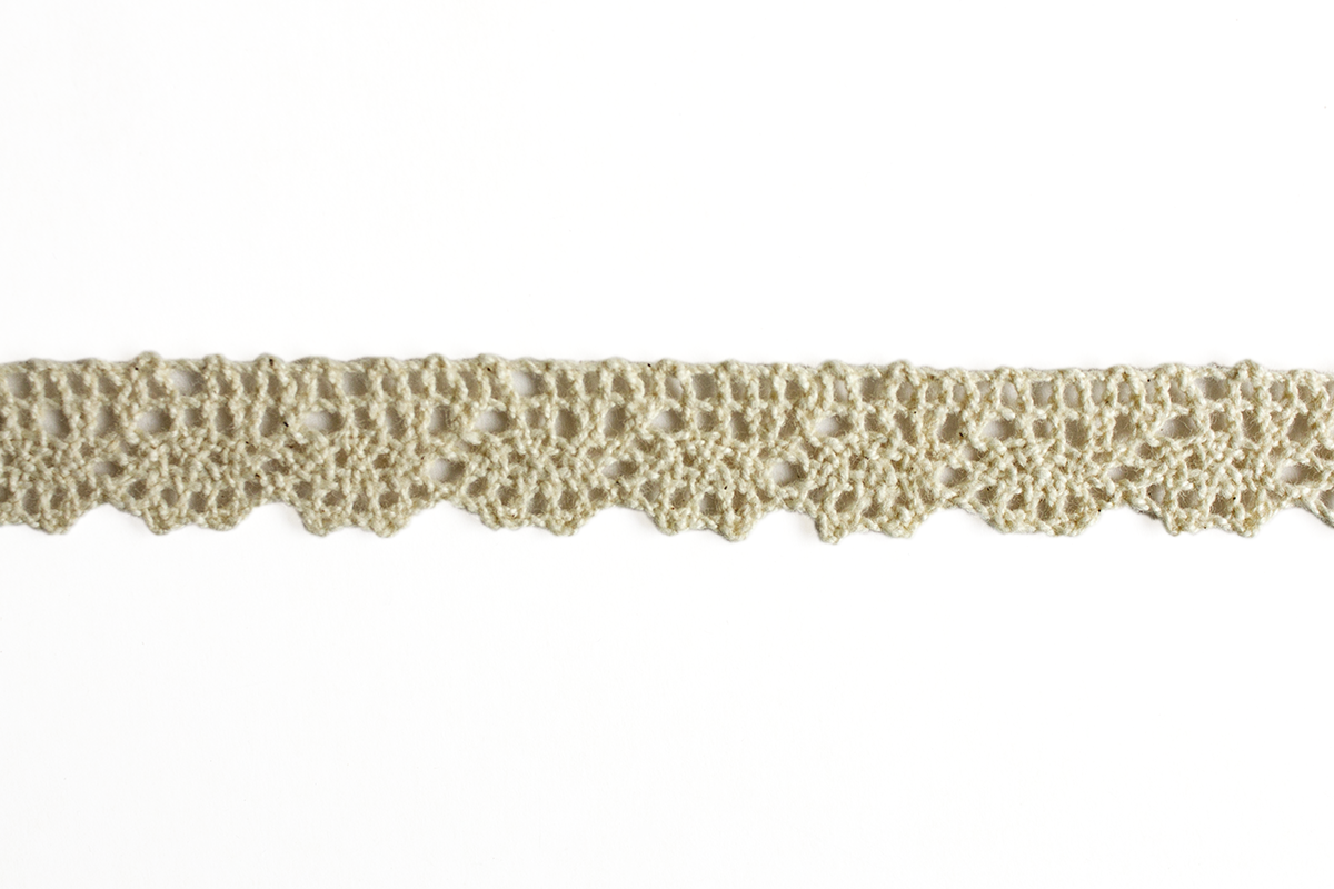 CROCHET LACE 15 MM