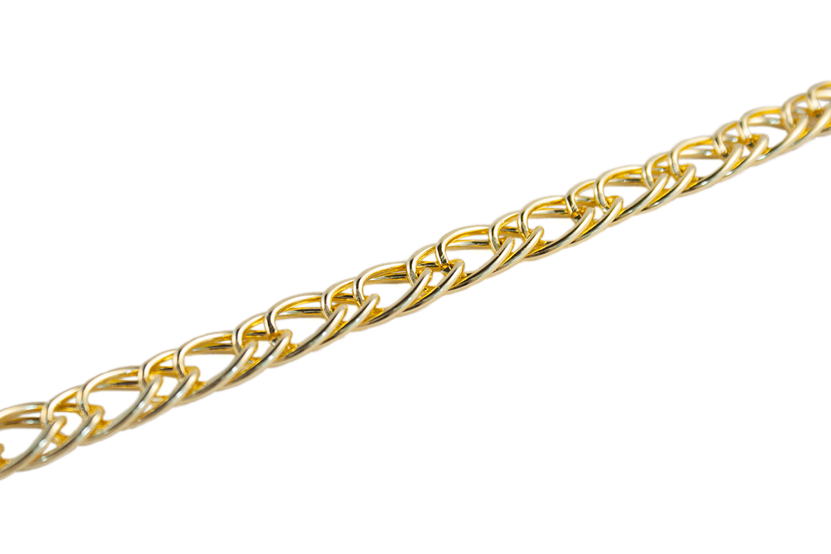 GOLD METAL CHAIN 10 MM