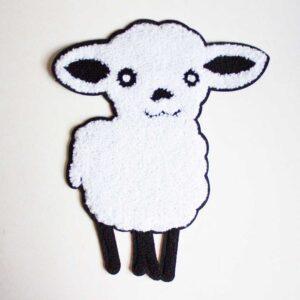 sew-on sheep
